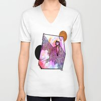 gem V-neck T-shirts featuring A Gem by Taylor Beck