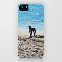 Livin' at the sea iPhone Case