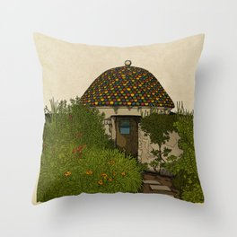 The Guard House Throw Pillow
