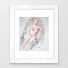 Annette Framed Art Print