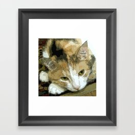My book Collection Peanut & Lily Framed Art Print