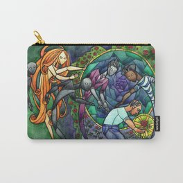 The Rose Maze Carry-All Pouch