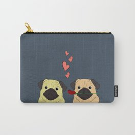 Valentines Pugs Carry-All Pouch