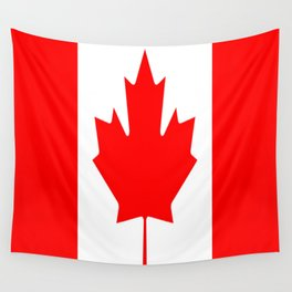 Flag of Canada Wall Tapestry