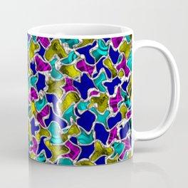 Abstract Hippie Mosaic Tiles Pattern Coffee Mug