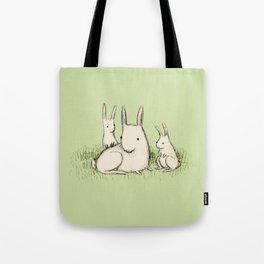 Bunny Family Tote Bag
