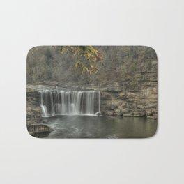 Cumberland falls in the fall Bath Mat