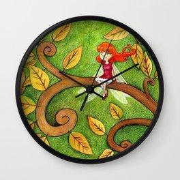 Petite Libellule Wall Clock