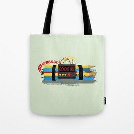 Even ideas bomb Tote Bag