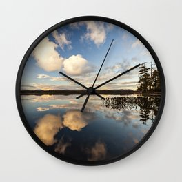 reflections on South Bay Wall Clock