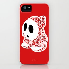 ShyGuy #CrackedOutBadGuys iPhone Case