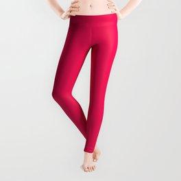 Rose Pink Valentine Sweetheart Leggings