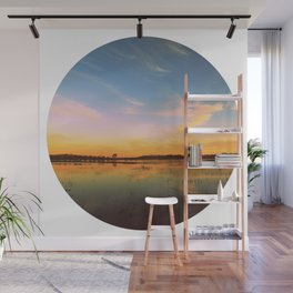 Maybe I'm a Fool (circle) Wall Mural