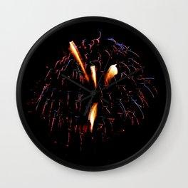 Fireworks 10 Wall Clock