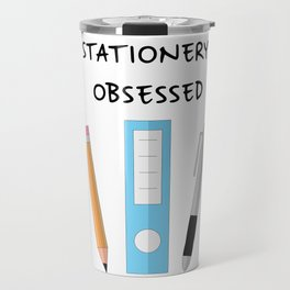Stationery Obsessed Travel Mug
