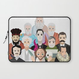 great philosophers and writers from all times Laptop Sleeve