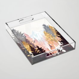 Wine Forest Acrylic Tray