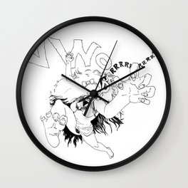 Prowl Wall Clock