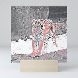 Animal ArtStudio 1319 Tiger Mini Art Print