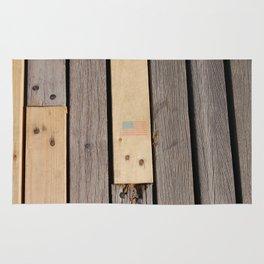 USA boardwalk Rug
