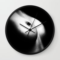 naked Wall Clocks featuring Naked by Erik Brede