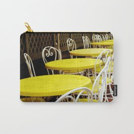 Outdoor Cafe Carry-All Pouch