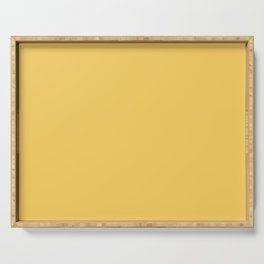 Pratt and Lambert 2019 High Noon Golden Yellow 13-9 Solid Color Serving Tray