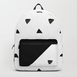 Triangle and triangles Backpack