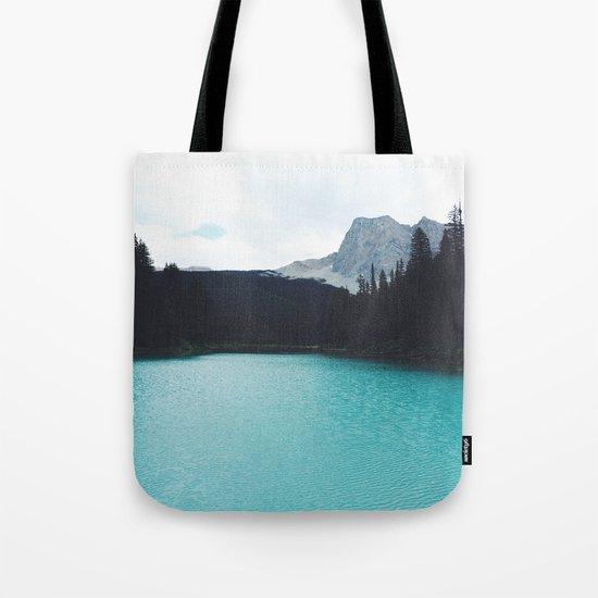Moody Emerald Lake Tote Bag