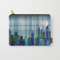 Plaid City Twilight Carry-All Pouch