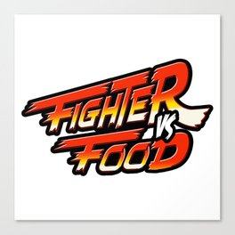 """Street Fighter"" Canvas Print"