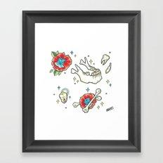 Jaw Bone Framed Art Print