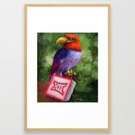 Ku Jayhawk 2016 Framed Art Print