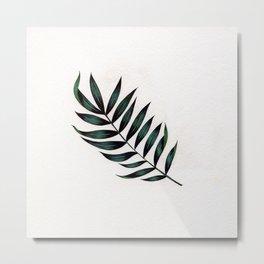 Tropic Fern Metal Print