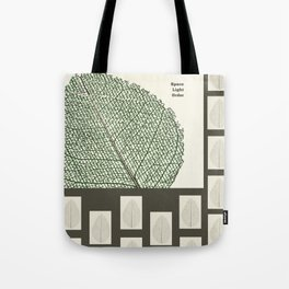 Space and Light and Order Quote #1 Tote Bag