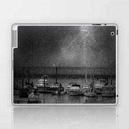 Harbour of Neuharlingersiel lower saxony Germany Laptop & iPad Skin
