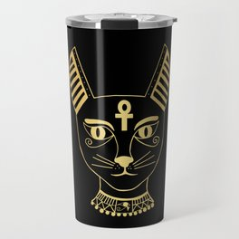 Cat goddess - Bastet Travel Mug