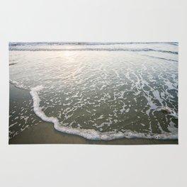 Surf at Sunset California Rug