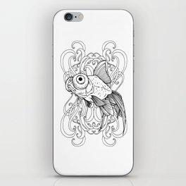 Rising Goldfish iPhone Skin
