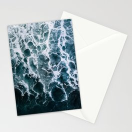 Minimalistic Veins in a Wave  - Seascape Photography Stationery Cards