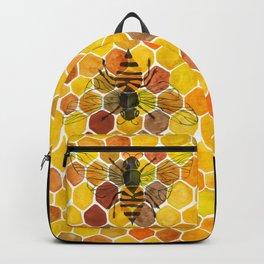 Bee & Honeycomb Backpack