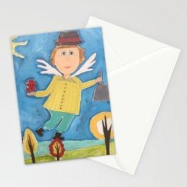 Garden Angel Stationery Cards