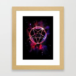 The Wrong Constellation Framed Art Print