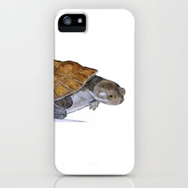 Happy Little Turtle iPhone Case