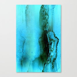 Abstract Agate Canvas Print