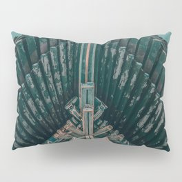 Asian Temple Travel Photography Pillow Sham
