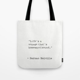 Herman Melville quote 13 Tote Bag