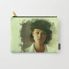 Keira Knightley in hat Carry-All Pouch