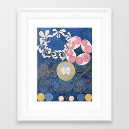 The Ten Largest No. 01 Childhood Group IV Hilma Af Klint Framed Art Print