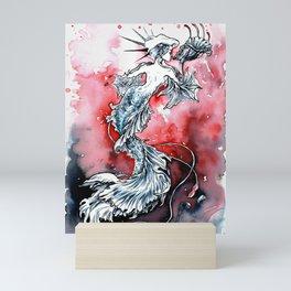 Mermaid Riot Mini Art Print